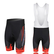 Red Fire Team Bicycle Cycling Shorts MTB Short Pants Men's Padded Biking Shorts