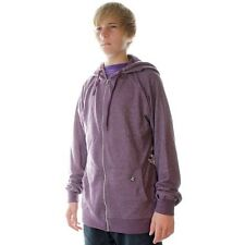 Volcom Timesoft Ultra Slim Heather Plum Zip Hoody