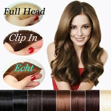 7/8 Pieces 100% Remy Human Hair Extension Clip In Full Head Wholesale US HQ307✿