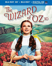 The Wizard of Oz (1939 Judy Garland) (3 Disc, + BR, Anniversary) 3D BLU-RAY NEW