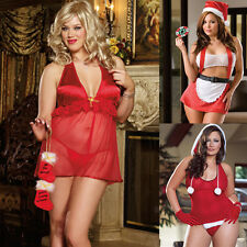 Queen One Size Plus Chistmas Lingerie Choice of 3 Styles by Dreamgirl