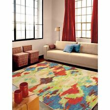 RUGS AREA RUGS 8x10 AREA RUG CARPET MODERN RUGS LARGE RUGS COLORFUL ABSTRACT RUG