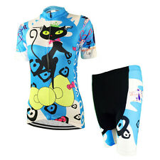 Weimostar Womens Cycling Jersey mtb Bike Jersey Shirt Breathable Bicycle Shorts