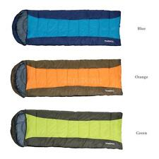 Thermal Adult Envelope Sleeping Bag 23F/-5C Outdoor Camping Travel Hiking C7S9