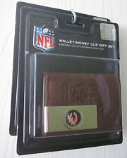 Chicago Bears Embossed TriFold Wallet Brass Money Clip or Wallet Key Chain