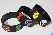 The Avengers Iron Man Captain Thor Hulk Black Widow Hawkeye Wristband