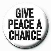 The Beatles Give Peace A Chance Badge