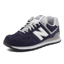 New Balance Mens ML574VIC D Navy Grey White Suede Classic Running Shoes NB574 DS