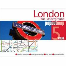 London Bus Underground Popout Map Not Available