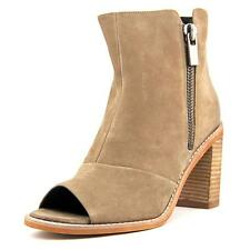 Kenneth Cole Reaction Lacey   Peep-Toe Leather  Ankle Boot NWOB