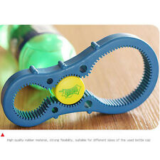 New Jar Opener Multi Purpose Jar Lids Bottle Cap Grip Twister Rubber Opener Tool
