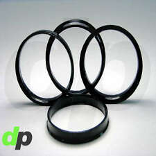 Set of 4 Polycarbonate Plastic Hub Centric Rings 73mm OD 56.1mm ID HubCentric