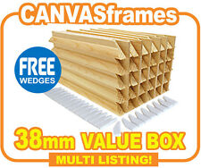 CLEARANCE Canvas Stretcher Bars, Gallery Canvas Frames 38mm - CHEAP