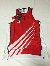 Biemme Cycling Women'S Jersey sleeveless, Size S,color red/white,MODEL Tria Lady