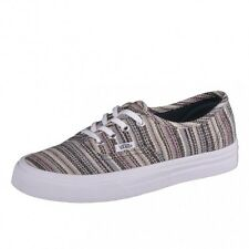 Vans Authentic textile stripes Shoes Trainers ladies girls Skate VN0003B9IKA