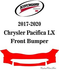 3M Scotchgard Paint Protection Film Clear Pre-Cut 2017 2018 Chrysler Pacifica