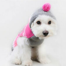 Pet Dog Warm Clothes Puppy Cat Shirt Winter Sweater Costume Jacket Apparel