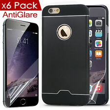 iPhone 6 Multi-layer Protection Cover Aluminum Alloy Hard Case Shell+Screen Film