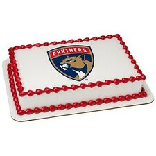 Florida Panthers NHL Birthday ~ Frosting Cake Topper ~ Edible Image ~ D19000