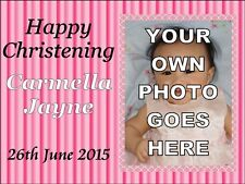 YOUR OWN PHOTO A4 CAKE TOPPER PERSONALISED EDIBLE PHOTO BIRTHDAY ICING SHEET