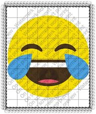 Emoji Laughing Birthday ~ Frosting Cake Topper ~ Edible Image ~ D19207