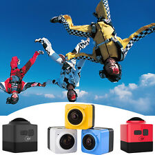 CUBER 360 Degree Mini Sports Action Camera WiFi 720P Panoramic Camera Camcorders