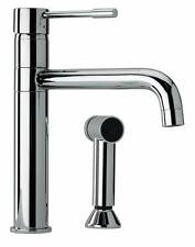 Jewel Faucets Modern Single Lever Handle Two Hole Kitchen Faucet w  [ID 1112614]