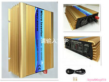 MPPT 600W Power Inverter Grid Tie Solar Inverter DC10.8-60v to AC110V 1pairs MC4