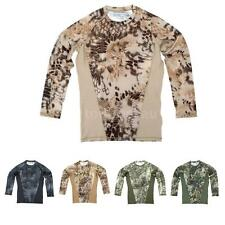Combat Outdoor Sports Quick Dry Long Sleeve Shirt for Hiking Hunting G9A7