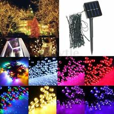 10-400 LED Solar Powered String Fairy Light Lamp Party Xmas Outdoor Garden Decor
