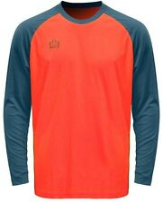 New Admiral Sentry Adult Padded Arm Soccer Goalie Goal Jersey S-XL Neon Orange