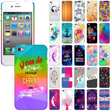 For Apple iPhone 4 4S Various Design Protector Hard Back Case Cover Skin