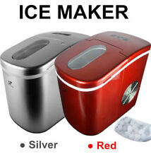 Portable Ice Cube Ice Maker Freestanding Countertop ICE Making Machine 26 Lb/Day