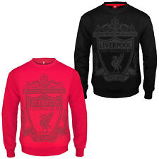 Liverpool Football Club Official Soccer Gift Mens Crest Sweatshirt Top