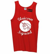 Unicorn Squad Funny Mens Tank Top Team Bridesmaids Dance Crew Unicorn Tank Z3