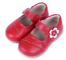 Girls Red Leather Mary Jane (Ages 1.5 to 2.5 yrs)
