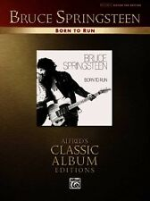 NEW Bruce Springsteen: Born to Run: Alfred's Classic Album Editions by Bruce Spr