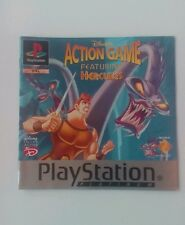 *INSTRUCTIONS ONLY* Disney Hercules Instruction Manual  PS1 PSOne Playstation
