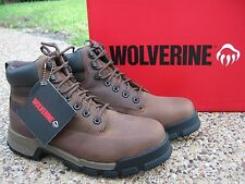 NEW Men Wolverine Gear Leather Waterproof ICS Composite Toe EH Work Boots W10148