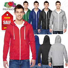 Fruit of the Loom 6 oz 100% Sofspun Cotton Jersey Full Zip Hoodie M-SF60R