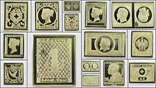 100 Greatest Stamps Collection .925 Silver Replicas Europe B Postage Stamp