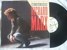 """RICHARD MARX Don't Mean Nothing 12"""" vinyl Sound Clip in Listing"""