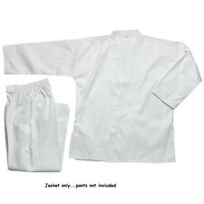 Karate JACKET GI TOP White size 0000,000,00,0,1,2,3,4,5,6,7,8,9 Martial Arts NEW