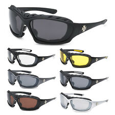 CHOPPERS LARGE Oversized Motorcycle Riding Sunglasses Big Padded Biker Goggles