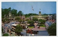 Disneyland Town Square Main Street USA Postcard A-4