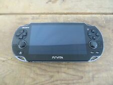 Sony PlayStation PS Vita PCH-1001Black Handheld Video Game Console (AS IS)