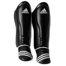 Adidas Super Pro MMA Shin Instep Guards - Black/White