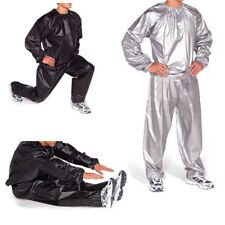 Heavy Duty Sweat Sauna Suit Exercise Gym Fitness Suit Weight Loss Anti-Rip Suit