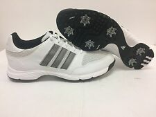 New Adidas Tech Response 4.0 Golf Shoes White/Silver/Black 816570