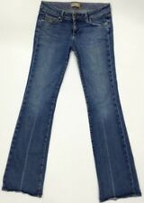 "Paige Laurel Canyon Stretch JEANS Women's Boot Leg Size 29 (inseam 34-1/2"")"